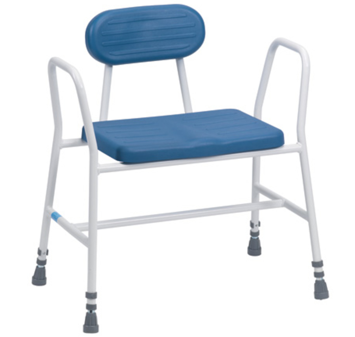 Deluxe Bariatric Perching Stool - Mobility Aids Uk