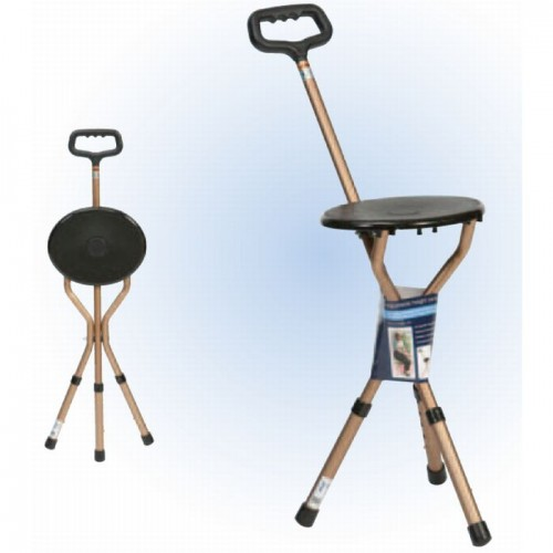 Walking Stick With Chair - Mobility Aids UK