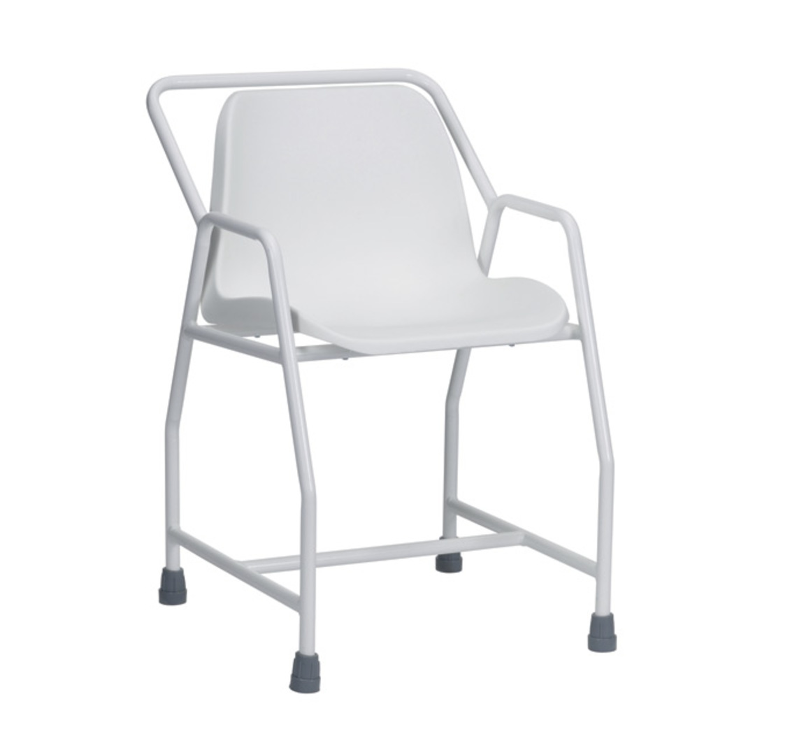 Foxton Stationary Shower Chair Fixed Height - Mobility Aids Uk