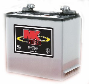 MK Battery 12v 55ah AGM - Mobility Batteries - Mobility Aids UK