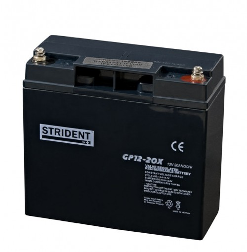 Strident 12v 20ah Battery - Mobility Batteries - Mobility Aids UK
