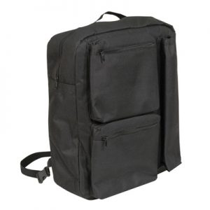 the deluxe crutch bag is a mobilitys aids walking stick holder. it has an elasticated compartment on the side of the crutch bag allowing it to be a crutch holder - our best selling scooter bag