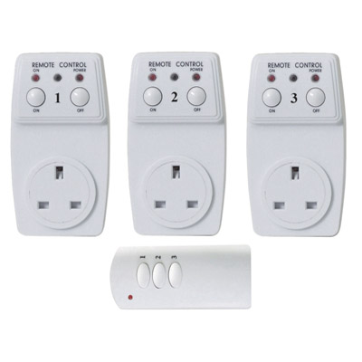 Wireless Remote Control Sockets - Home Living - Mobility Aids UK