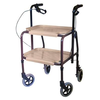 Height Adjustable Kitchen Strolley Trolley - Home Living - Mobility Aids UK