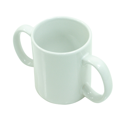 Aidapt Two Handled Ceramic Mug – Home Living – Mobility Aids UK