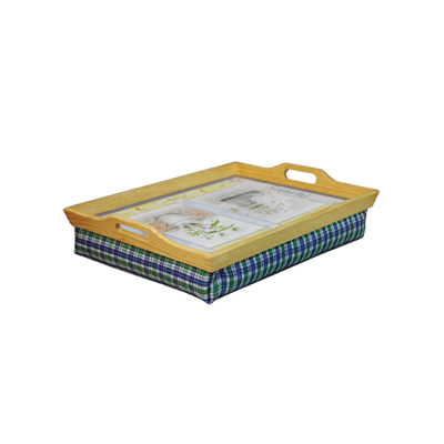 Wooden Lap Tray with Cushion - Home Living - Mobility Aids UK