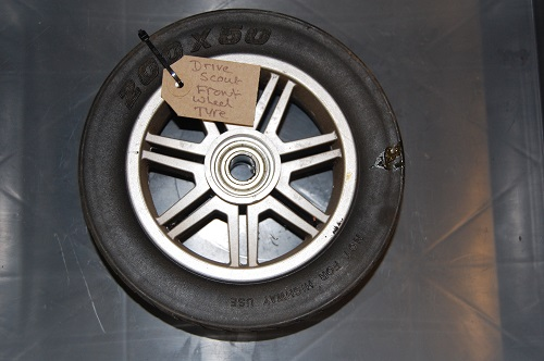 Drive Scout Front Wheel & Tyre