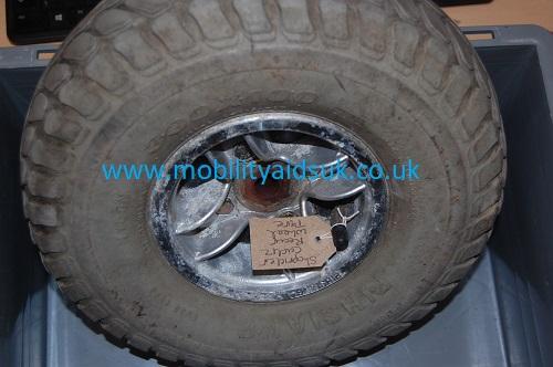 Shoprider Cadiz 8mph Rear Wheel and Tyre